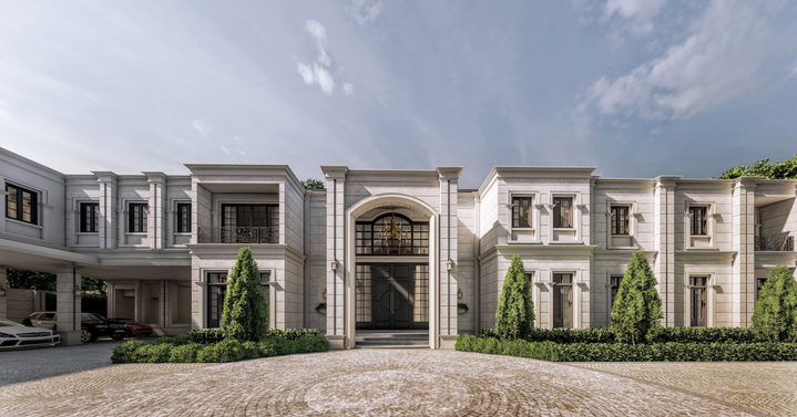 Private Residence: Timeless Sanctuary: Front Entry