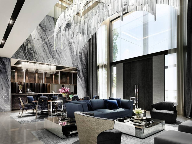 Modern Luxury Lobby