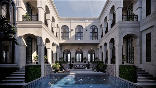 Private Residence: The Golden Age: Center Area