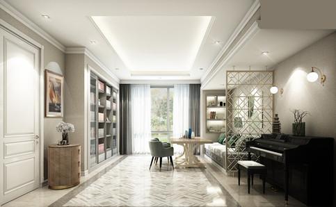 Modern Classic Livingroom