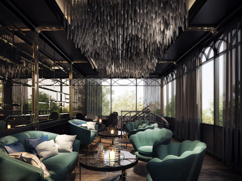Modern Luxuxry Private Lounge