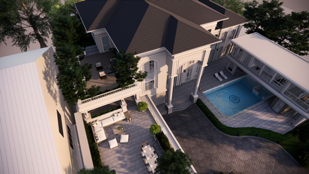 Private Residence: Long Awaited Rewards: Roof Garden With A Terraced Forest Setting