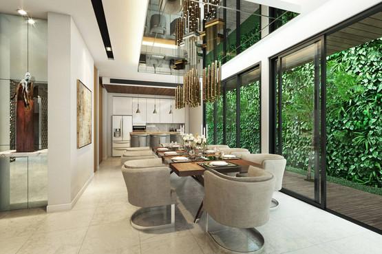 Modern Luxury Dinning Room