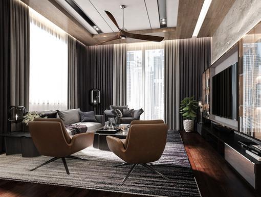 Modern Contemporary Living Room