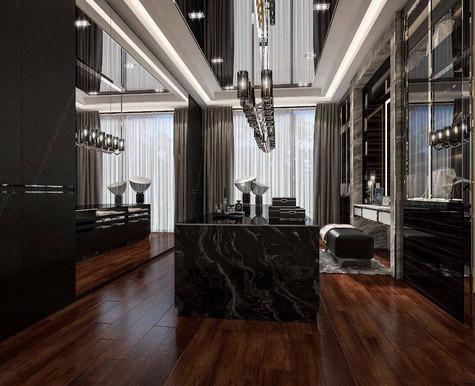 Modern Luxury Walk-in Closet