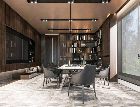 Modern Luxury Co-Working Space