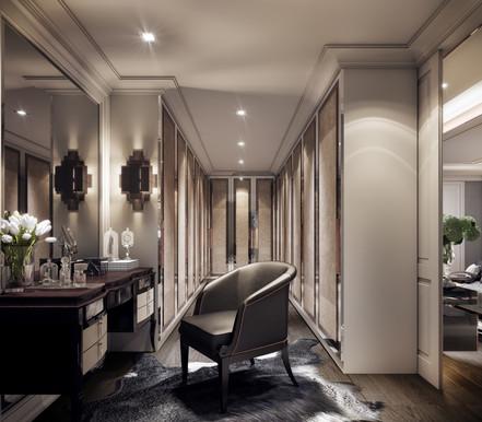 Modern Luxury Walk in Closet