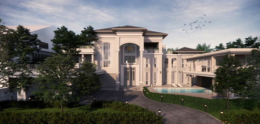 Private Residence: Long Awaited Rewards: Front View