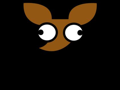 The Tutimon Logo. Showing a cartoon face of chihuahua