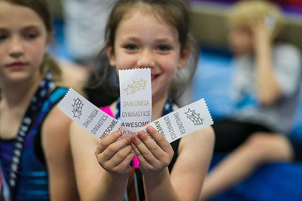 Dahlonega Gymnastics Awesome Athletes Awards