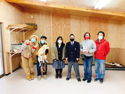 今年もHeart Tokushimaに寄付させて頂きました。