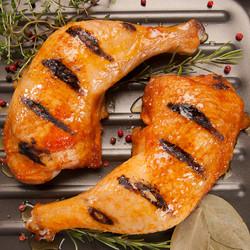 Coxa de frango assado