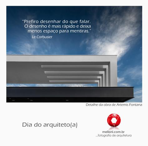 Parabéns aos Arquitetos(as)