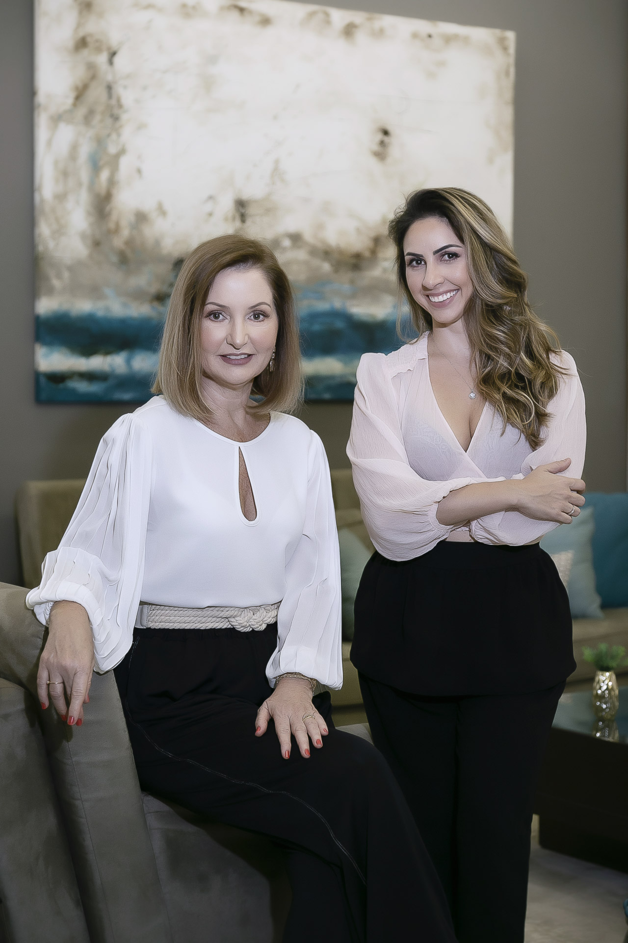 Marinalva e Adriana