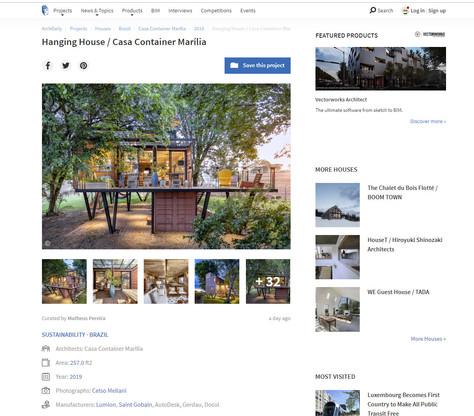 A Casa suspensa é destaque em site internacional