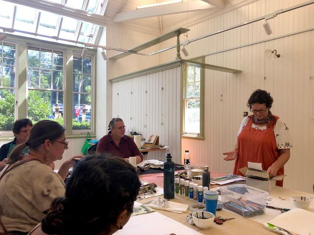 Donna Malone art workshops