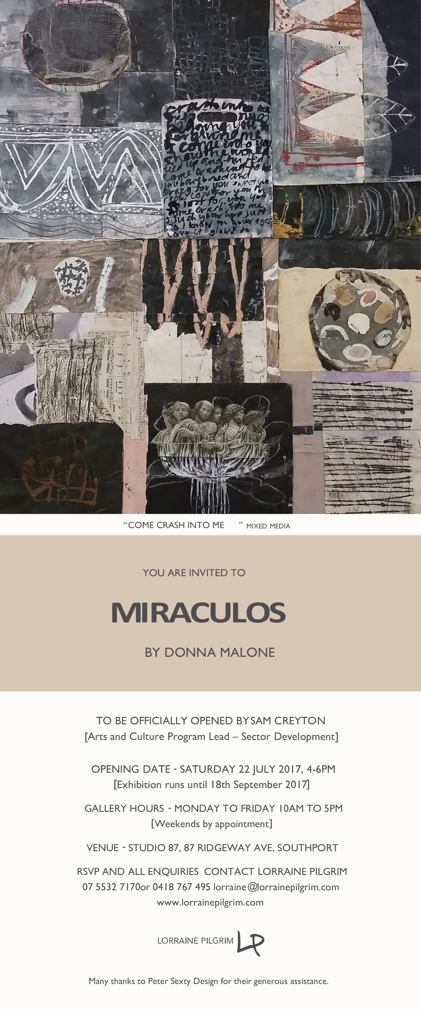 Invitation for Miraculos