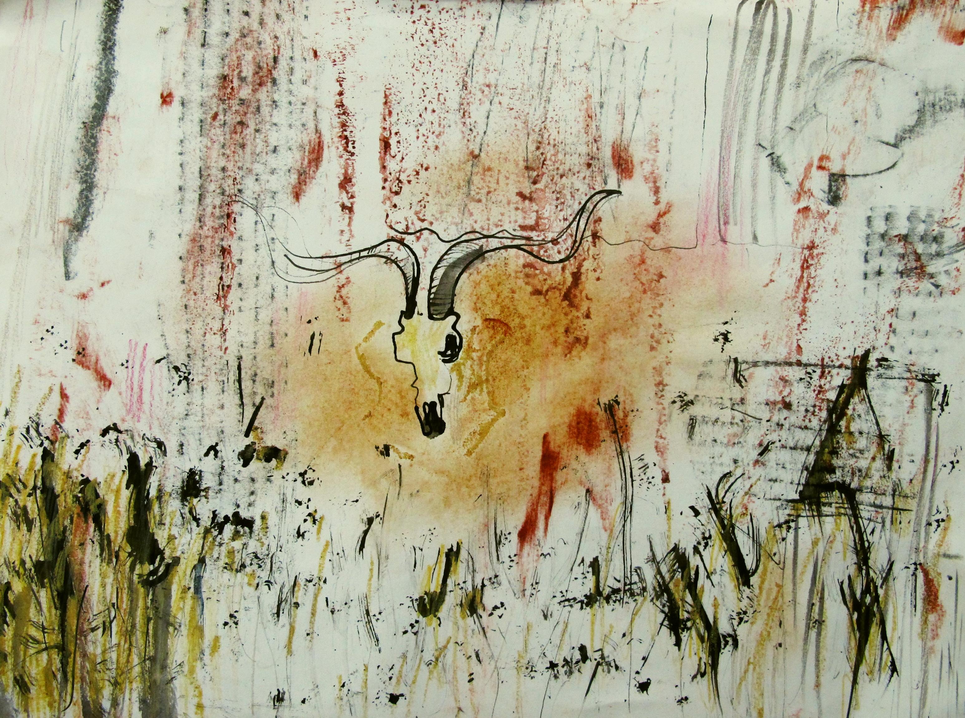 goat skull 2