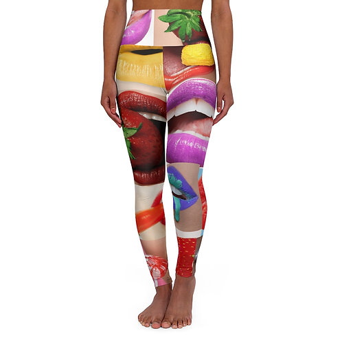 YUM! by Deisi Collection High Waisted Yoga Leggings