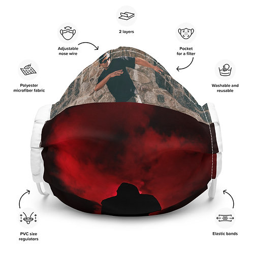 Dom Red Dude Premium face mask