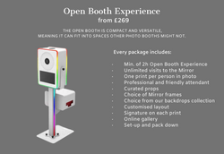 Open Photo Booth Hire Maidenhead