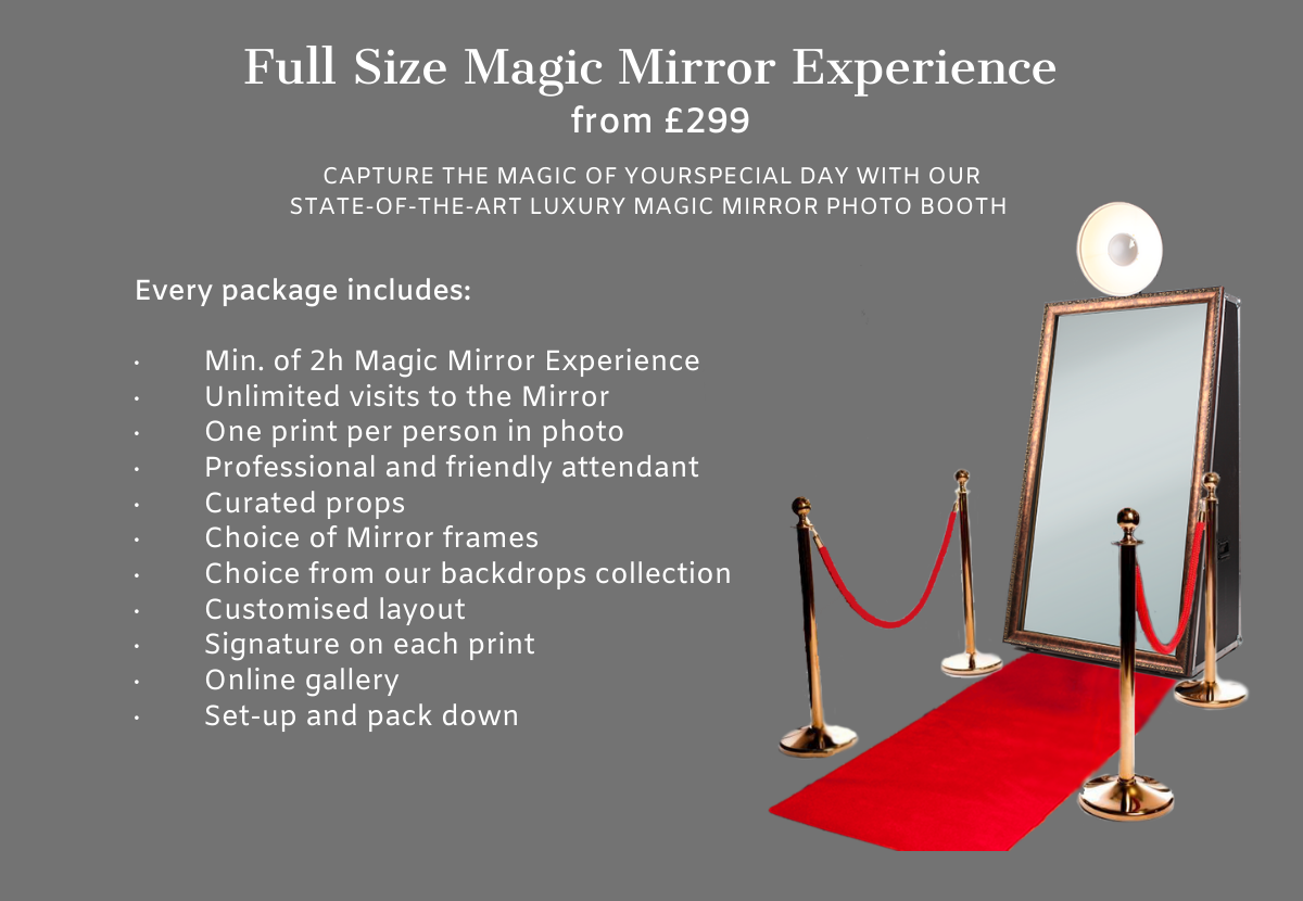 Magic Mirror Hire Windsor