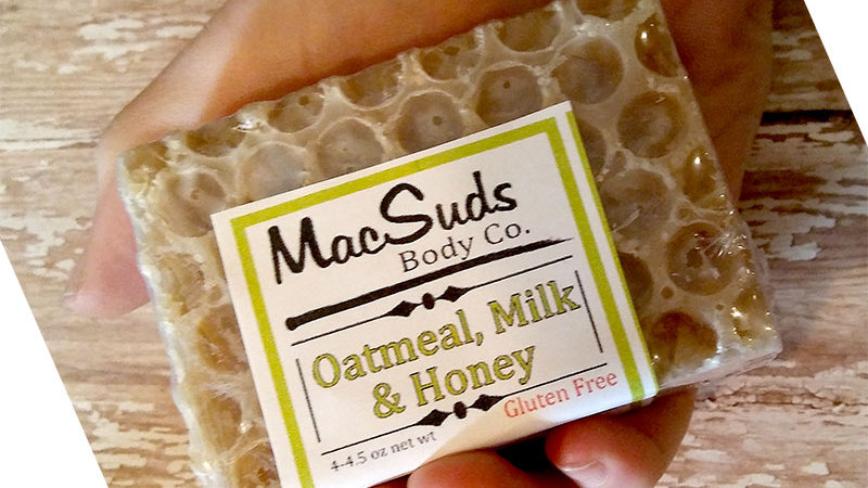 Oatmeal, Milk & Honey Handmade Soap Bar