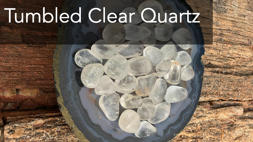 Tumbled Clear Quartz