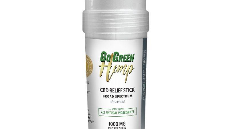 CBD Pain Stick by GoGreen Hemp