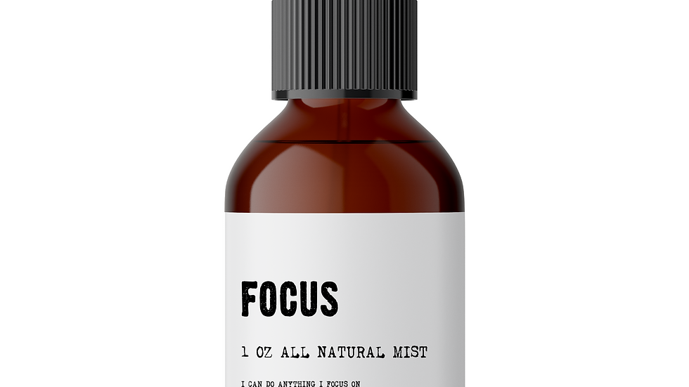 Focus - Meditation/Body Mist - Made With All Natural Ingredients