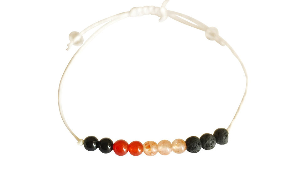 Leo + Hemp + Choice of Anklet or Bracelet