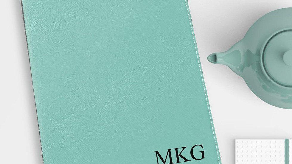 Personalized Portfolio - Vegan Leather - With Notepad - Executive Gift