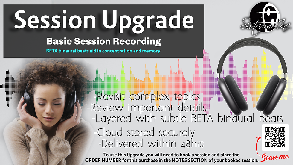 Basic Session Upgrade (Audio Recording)