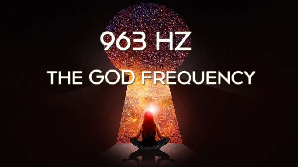 963 Hz Solfeggio Frequency