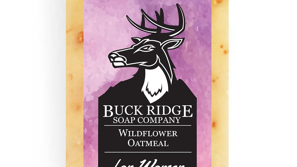 Wildflowers & Oatmeal Handmade Soap