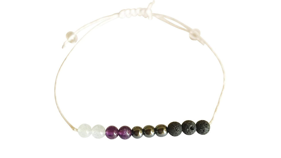 Aquarius + Hemp + Choice of Anklet or Bracelet
