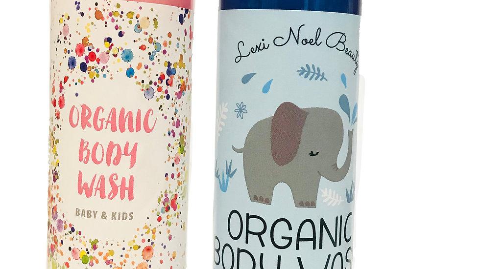 Lexi Noel Beauty Organic Vegan Kids and Baby Body Wash