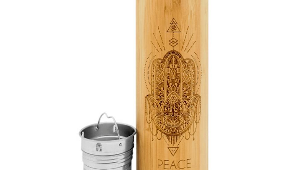 16.9oz PEACE Bamboo Tumbler