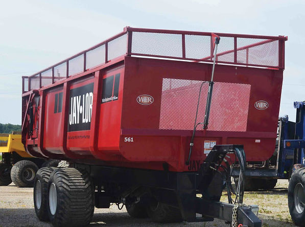 WERGroup.ca | 24t Haylage / Grain Trailers