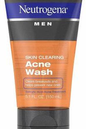 Neutrogena Men Skin Clearing Acne Face Wash  (150 ml)