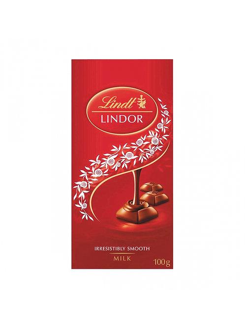 Lindt Lindor milk chocolate irresistibly smooth