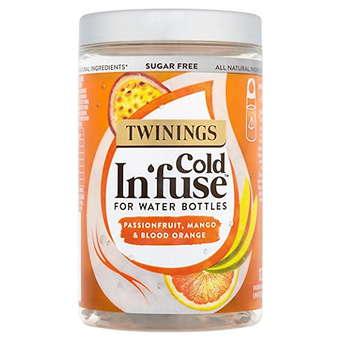 Twinings Sugarfree Cold In'fuse for Water Bottles 30g