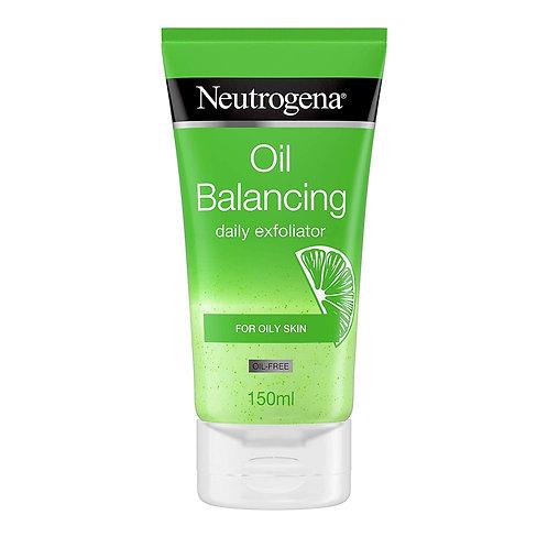 Neutrogena Oil Balancing Daily Exfoliator 150ml with lime & aloe vera