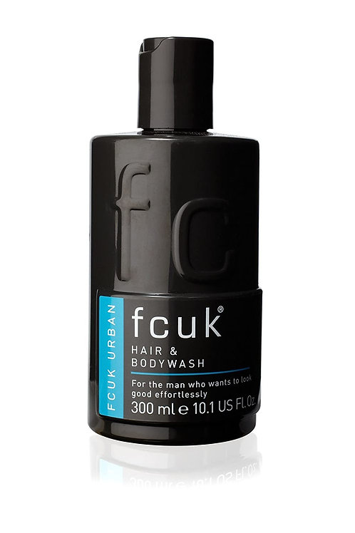 FCUK URBAN - High Performance HAIR & BODY WASH- 300ml