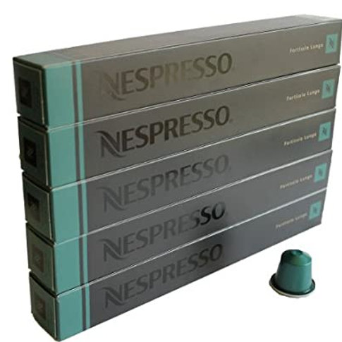 Nespresso Original Line: Fortissio Lungo, 50 Count