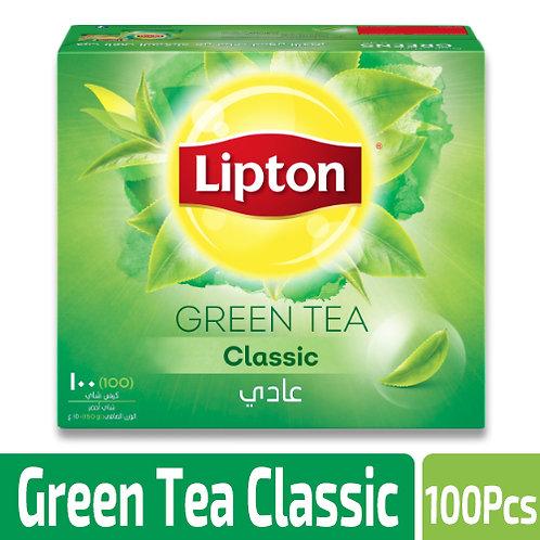 Lipton Green Tea Classic - 100 Tea Bags, Packaging Size: 150g