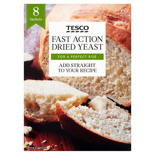 TESCO Fast Action Dried Yeast 8 sachets Yeast Powder  (56 g)