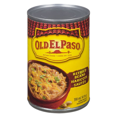 Old El Paso Refried Beans, 398 ML