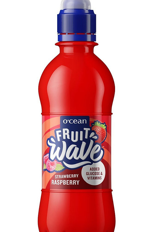 Ocean Fruit Wave strawberry and raspberry