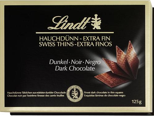 Swiss Thins- Extra Thin Dark Chocolates - 180g
